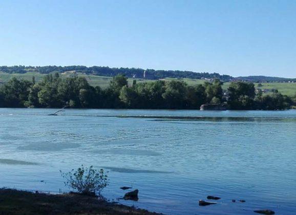 Bingen-Kempten Rheinbrückenruine