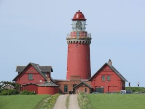 Leuchttrum in Dänemark